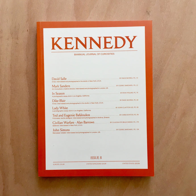 Kennedy Issue 8 (PRE ORDER)