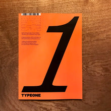 TYPEONE Issue 01