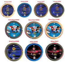 Leather steering wheel covers official Car -Pumas -Cruz azul-America-Atlas