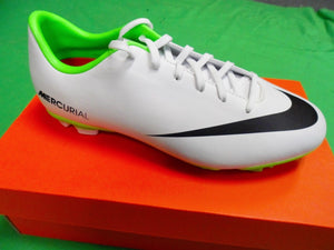 Authentic Nike Jr Mercurial Victory IV FG Color White