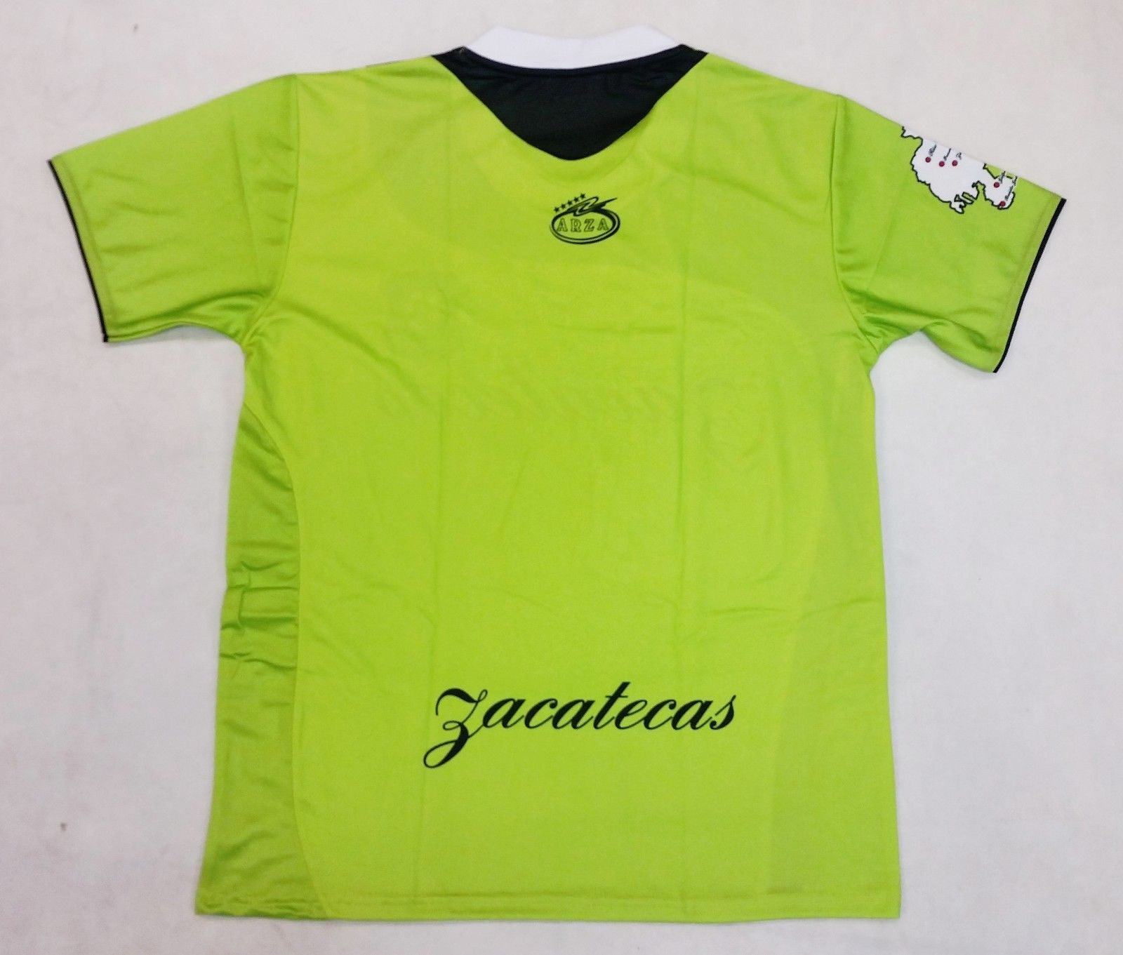 613d985db Zacatecas Mexico Soccer Jersey Color Green and Black Arza Design ...