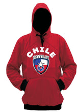 Chile Polyester Warm Fleece Hoodie Made in USA