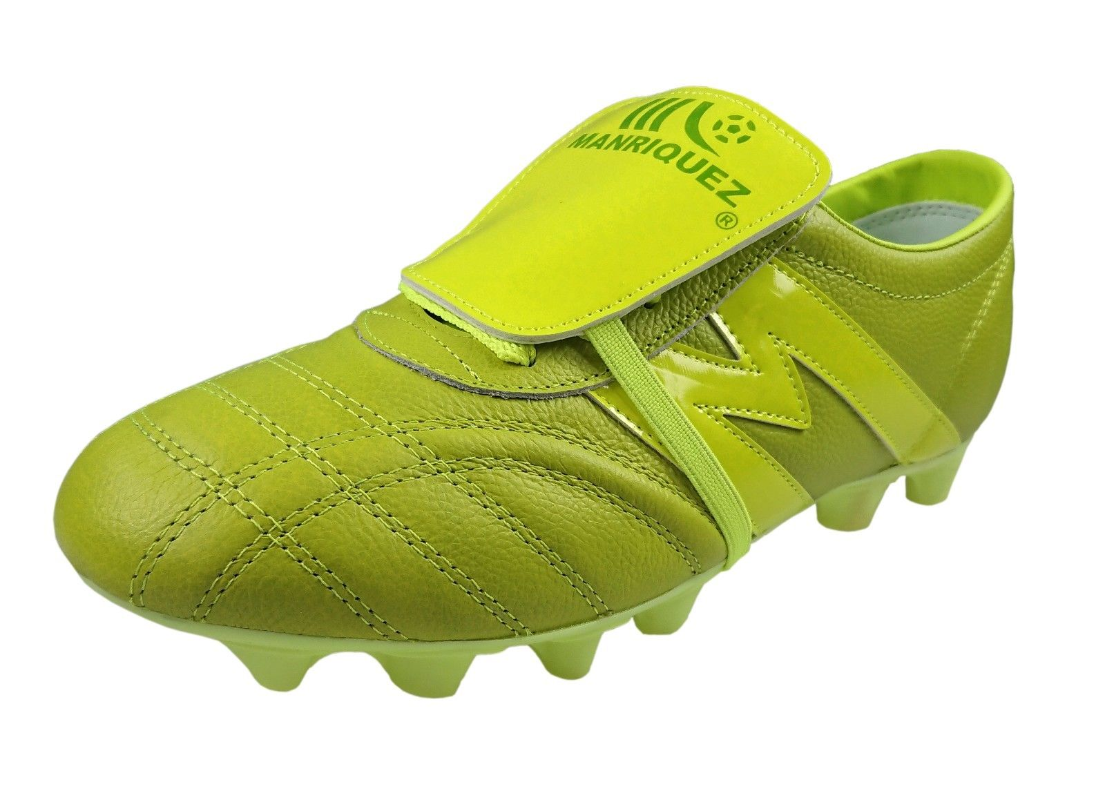 559680259bf ... Soccer Cleats Manriquez MID SX Total Green Genuine Leather ...