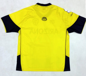 Arizona Arza Soccer Jersey Color Yellow 100% Polyester.
