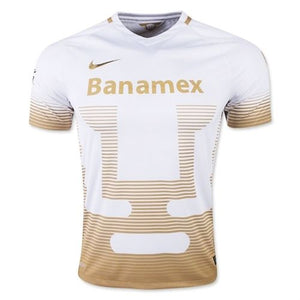 Authentic Official Nike Pumas UNAM 2015-2016 Away Jersey