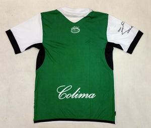 Colima Mexico Jersey Arza Design Color White and Green