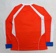 Holland 2016 New Arza Soccer Jersey Orange Long Sleeve