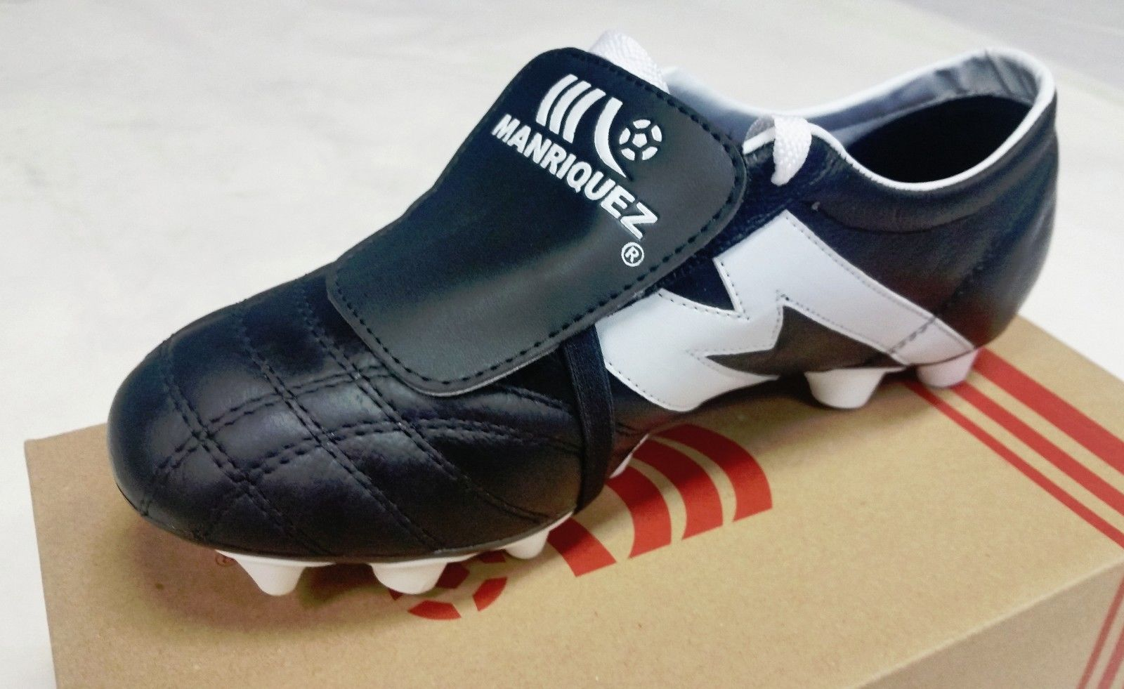 2bd49f5fe3a ... Soccer Cleats Manriquez Authentic Leather Made in Mexico Liga MX ...
