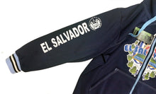 El Salvador Polyester Warm Fleece Hoodie Made in USA