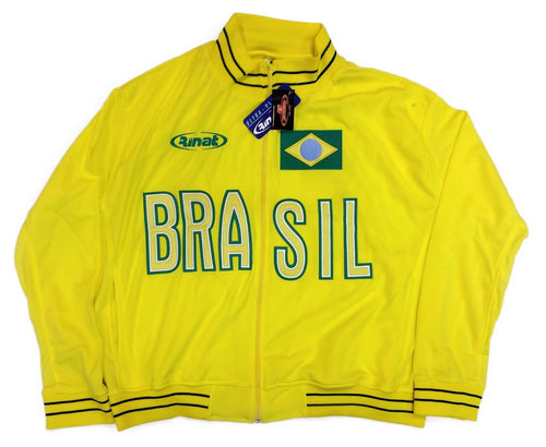 Brasil Yellow Track Jacket By Rinat
