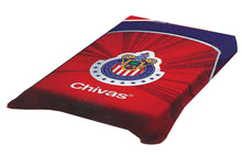 Chivas del Guadalajara Twin Size Blanket Official Licensed Colap