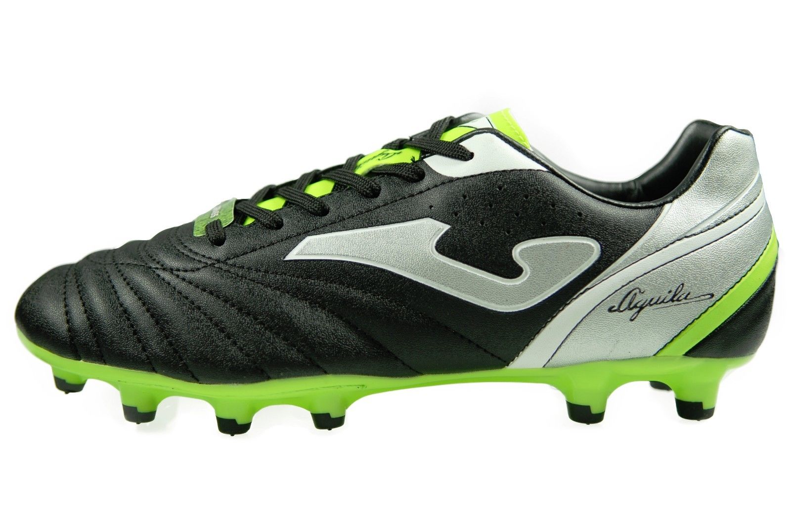 Authentic Joma Firm Ground Soccer Cleats Color Black Aguila 601