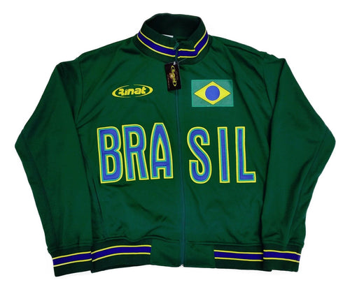 Brazil Green Track Jacket By Rinat