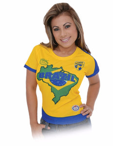Brasil Blouse for woman 100% polyester
