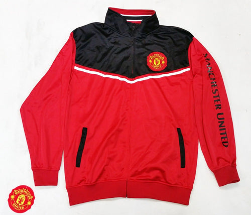 Manchester United Track Jacket Official Licensed Rhinox