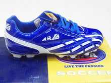 Arza Soccer Youth Cleats Style Altima Royal Blue/White