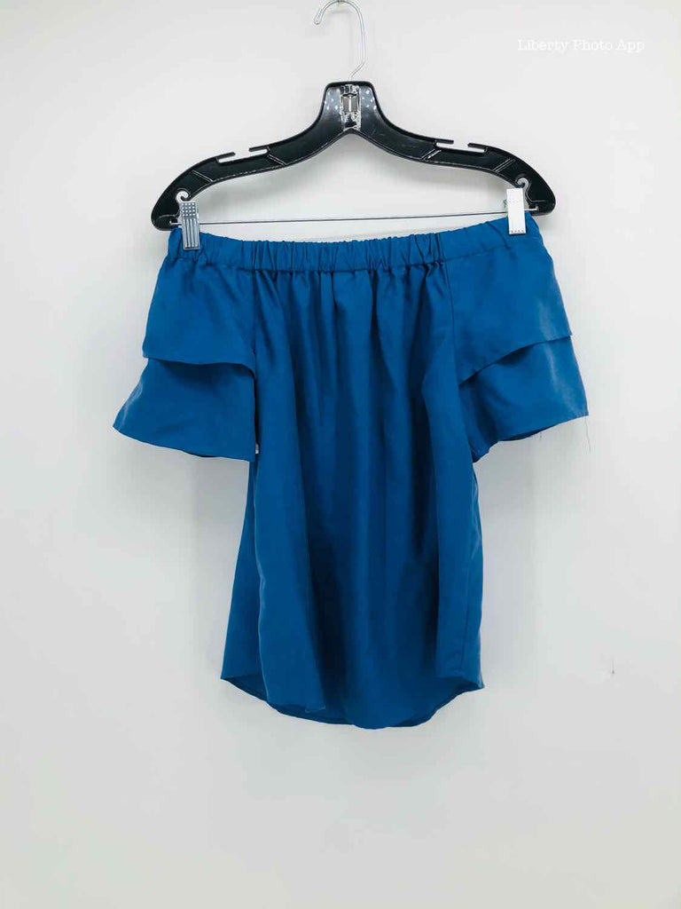 H&M Size 4 blue cotton TOPS
