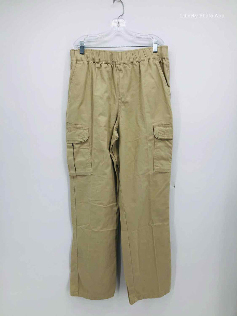 Children's Place Size 16 tan cotton BOYS PANTS