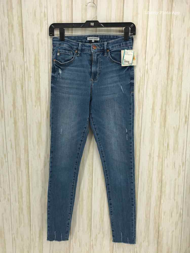 Dear John Size 25 denim distressed skinny BOUTIQUE