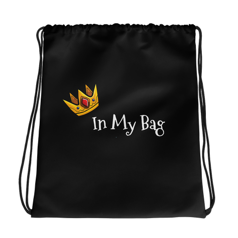 """In My Bag"" Drawstring bag"