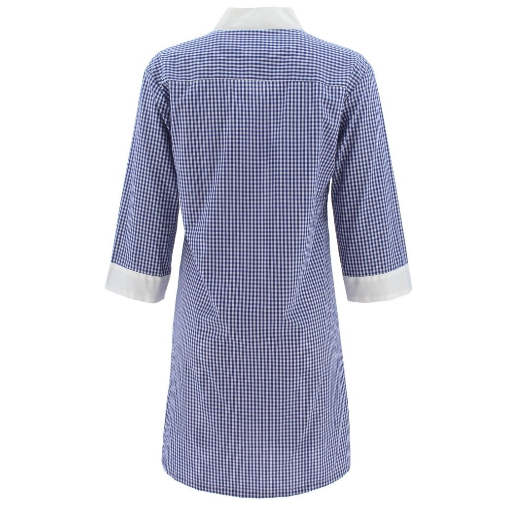 Gingham & Crabs Tunic