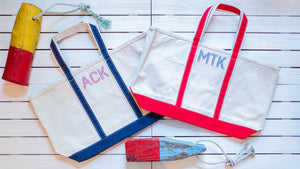 Letter Perfect Holiday Totes