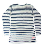 The Wharf Lobster Sweater Natural w/ Navy
