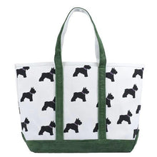Load image into Gallery viewer, Cord Scotty Dog Tote