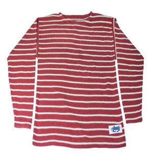 The Wharf Crab Sweater Nantucket Red w/Natural