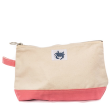 Load image into Gallery viewer, Crab Canvas Pouch