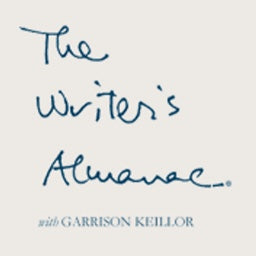 NEWS re The Writer's Almanac