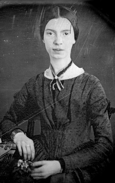 Emily Dickinson as featured on The Writer's Almanac and in 'Living with Limericks'