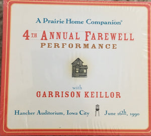 A Prairie Home Companion 4th Annual Farewell Performance (2 CDs)