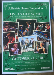 APHC Cinecast SIGNED poster