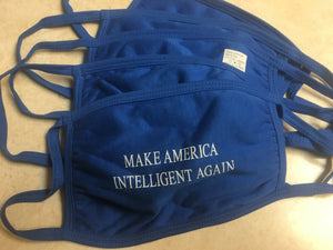 Make America Intelligent Again mask (SET OF 5)