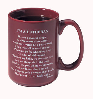 I'm a Lutheran mug (set of 2 mugs)