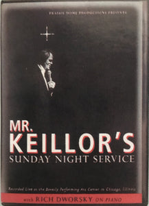 Mr. Keillor's Sunday Service DVD