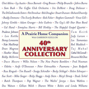 A Prairie Home Companion 40th Anniversary Collection (4 CDs)
