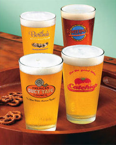 A Prairie Home Companion Pint Size Sponsor Glasses (set of 4)