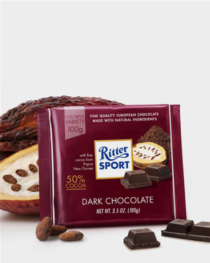 CHOCOLATE 50% CACAO RITTER  100 g