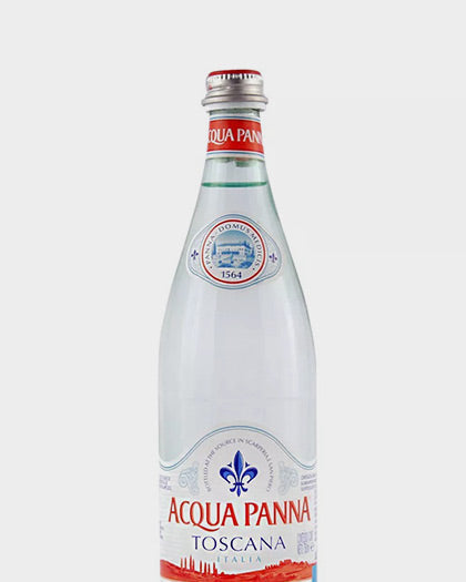 ACQUA PANNA SIN GAS 750ml (VIDRIO)