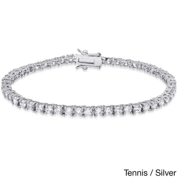 2 carat diamond tennis bracelet for women in Rose Gold