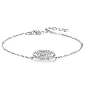 .25 Carat Unique Affordable Round cut Diamond Bracelet for Women in White Gold