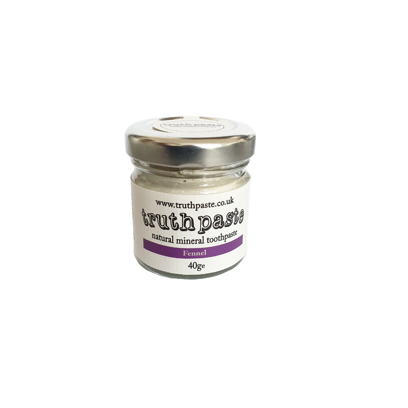 truthpaste natural toothpaste. Fennel, 40g Zero waste toothpaste.