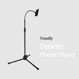 "Generic Tripod - Gooseneck Flexible - 68"" (Phone / Tablet holder expands to 12"")"