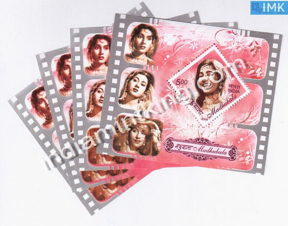 India 2008 Madhubala MNH Miniature Sheet