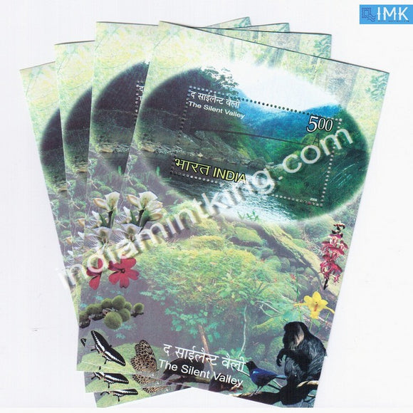 India 2009 Silent Valley MNH Miniature Sheet - buy online Indian stamps philately - myindiamint.com