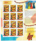 India MNH 2002 National Children's Day Sheetlet - buy online Indian stamps philately - myindiamint.com
