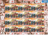 India MNH 2007 First War Of Independence 1857 (Mutiny) Set Of 3 Sheetlet - buy online Indian stamps philately - myindiamint.com