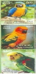India MNH 2016 Birds Series 2 (Variety 1)  Setenant - buy online Indian stamps philately - myindiamint.com